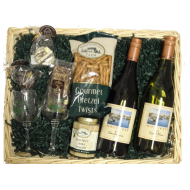 Dry Wine Gift Basket